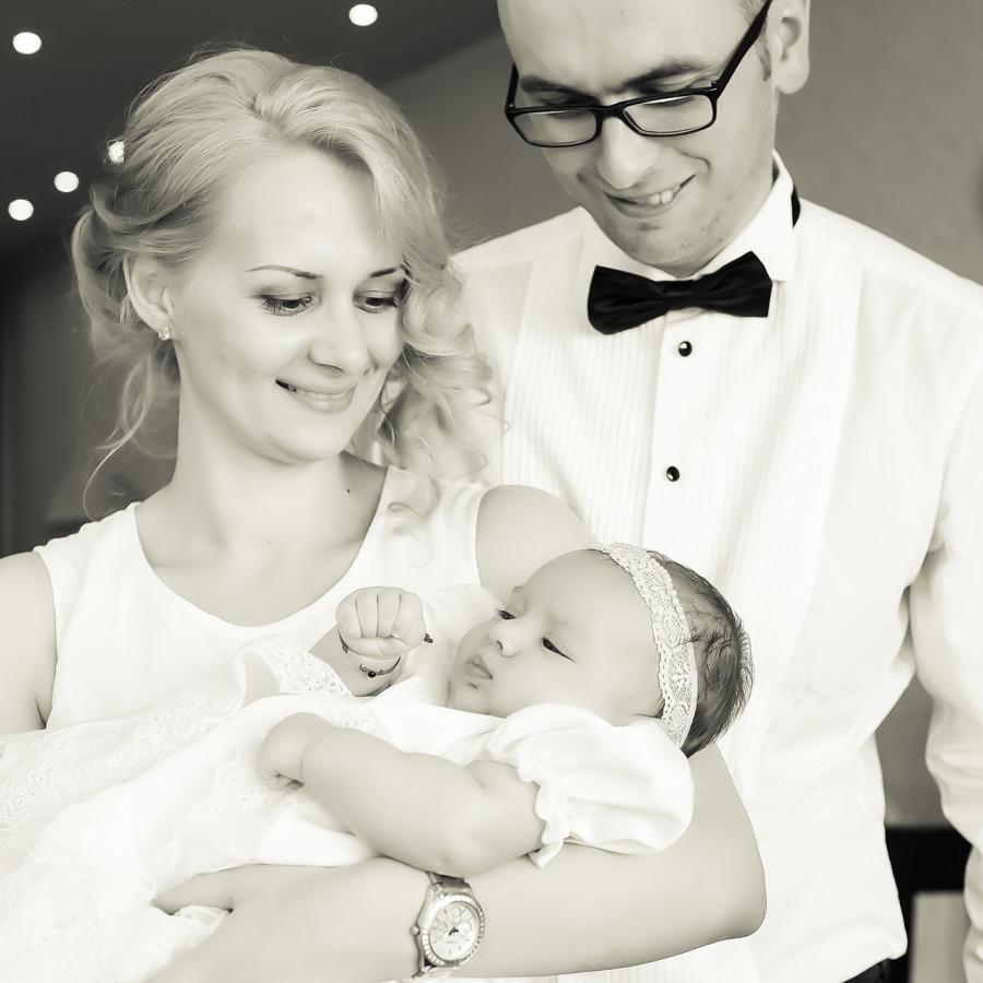 Mia Elena fotografii de la botez