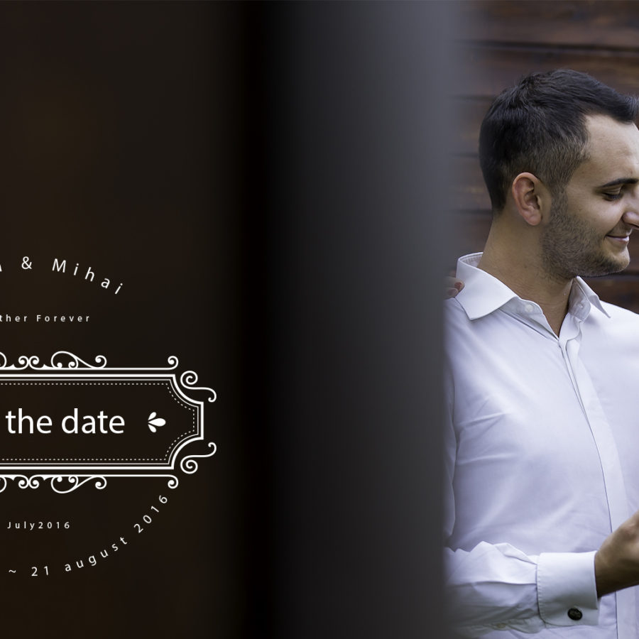 Save the date Luisa and Mihai