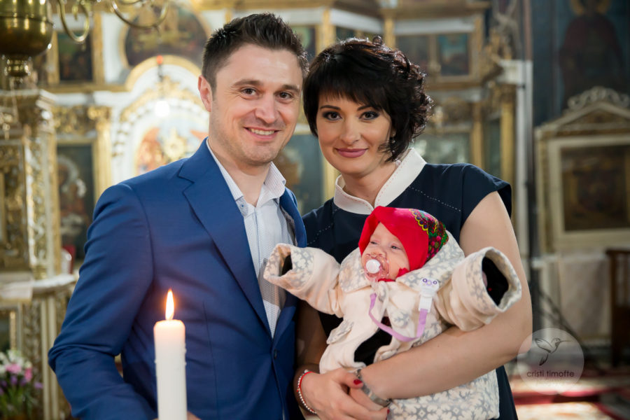 foto botez Adelina Ioana